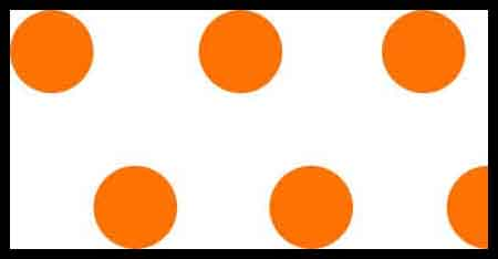 FLG PDWO - Orange/White Polka Dot Flagging